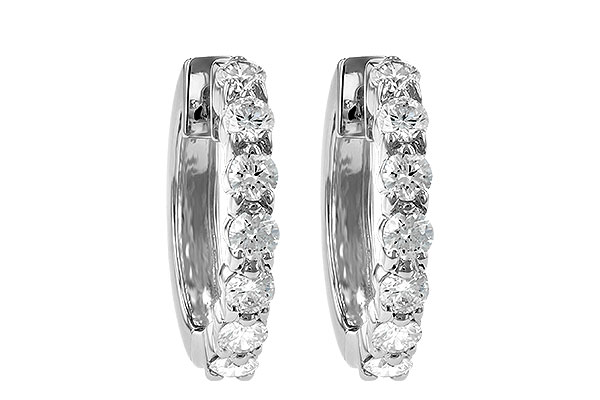 A055-48561: EARRINGS 1.00 CT TW