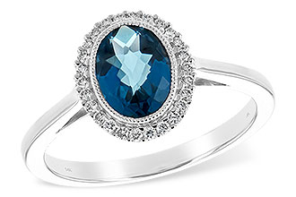 D243-64934: LDS RG 1.27 LONDON BLUE TOPAZ 1.42 TGW